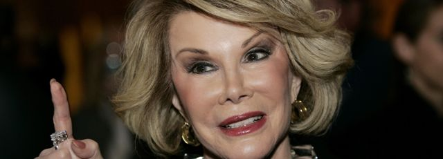 Mort de l'actrice Joan Rivers, pionni�re de la com�die am�ricaine