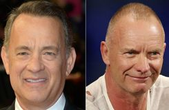 Tom Hanks et Sting, h�rauts de la culture am�ricaine