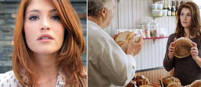 Gemma Arterton, une bombe en Normandie