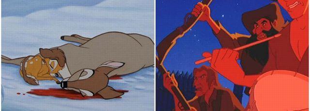 Les dessins anim�s, plus violents que les films pour adultes