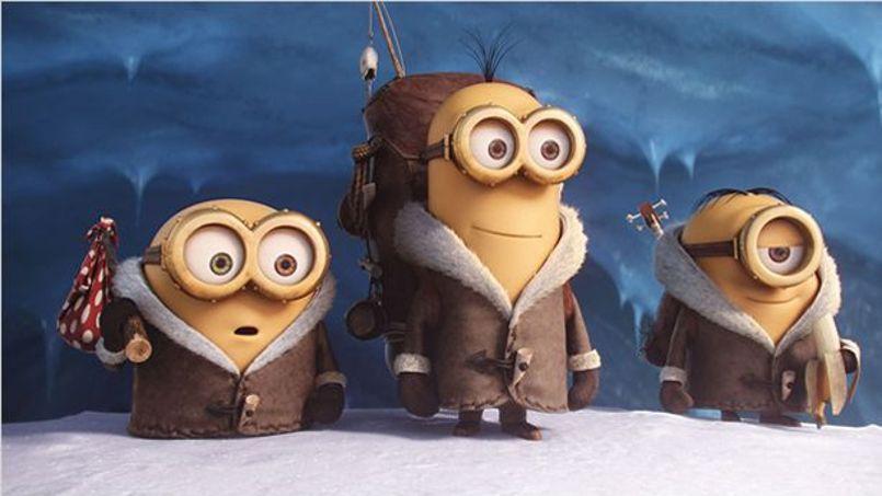Les adorables Minions de Mac Guff �esp�rent bien rafler l'Oscar�