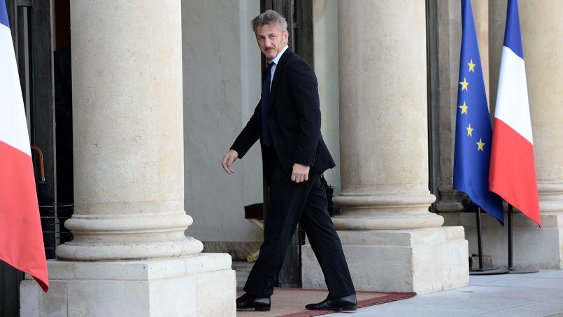Sean Penn : �Une r�union tr�s productive� avec Fran�ois Hollande