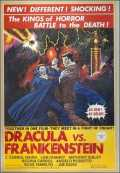 l'affiche du film : Dracula vs Frankenstein