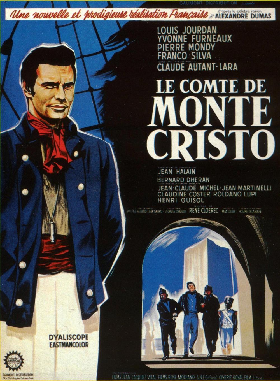 le comte de monte cristo 1961 de claude autant lara avec louis jourdan yvonne furneaux