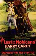 l'affiche du film : The Last of the Mohicans