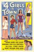 l'affiche du film : Four Girls in Town
